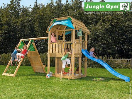Barn, Climb & Swing Set