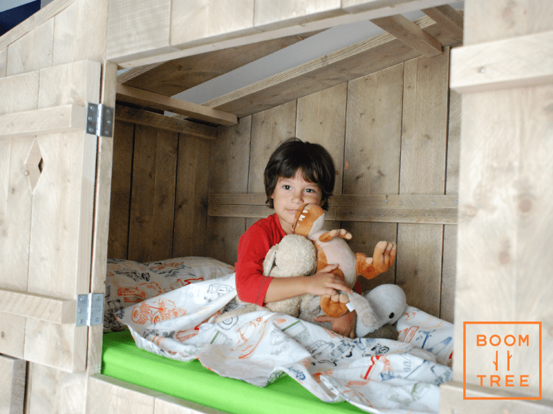 Bedtime routine BoomTree Adventure Playgrounds Dubai Treehouse Bunk bed