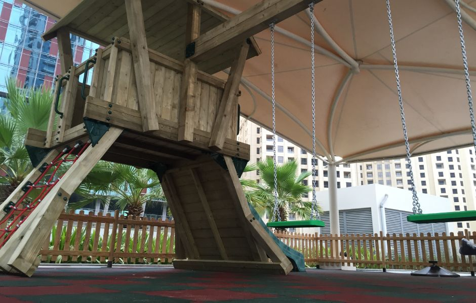 Commercial Playground Equipment BoomTree-Adventure-Playgrounds-Dubai