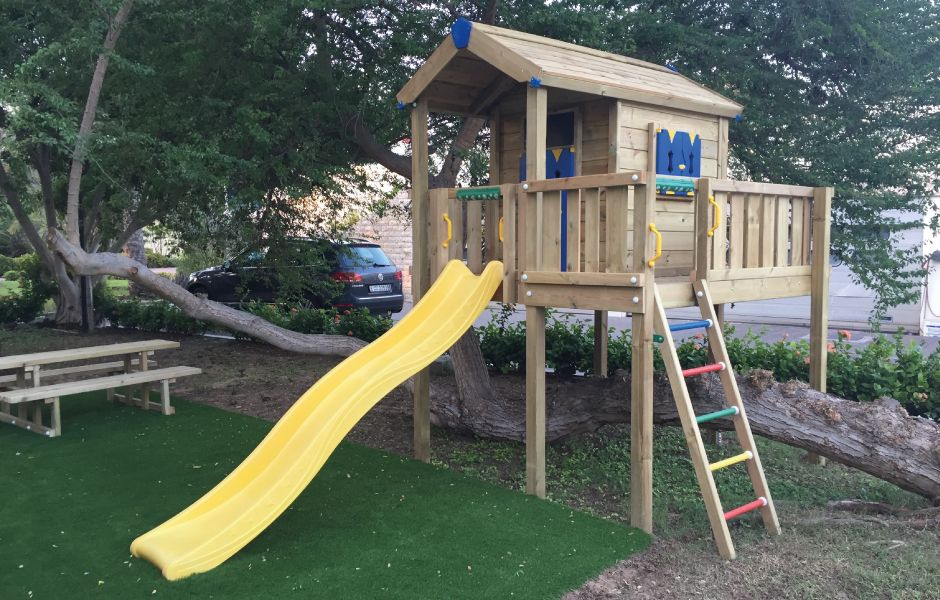Residential Playground Equipment provided by BoomTree Adventure Playgrounds Dubai UAE