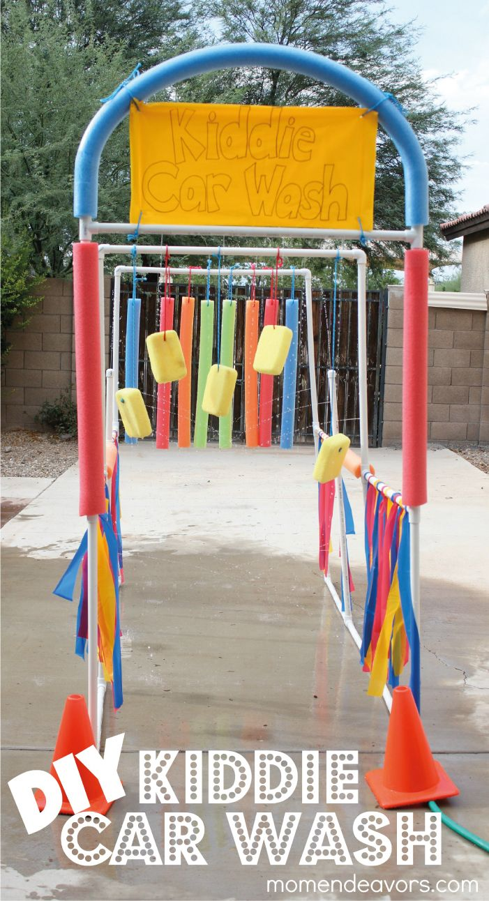 Water games-DIY-Drive-through-water-sprinkler-BoomTree-Adventure-Playgrounds-Dubai