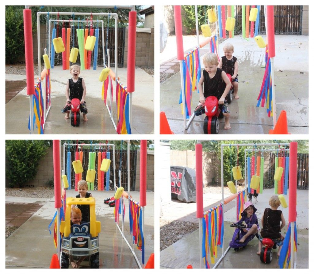 Water games DIY Drive through water sprinkler BoomTree Adventure Playgrounds Dubai2