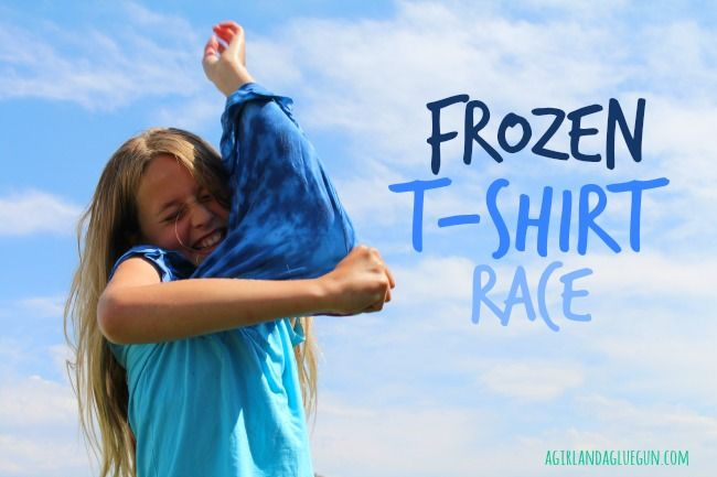 Water games Frozen Tshirt Race BoomTree Adventure Playgrounds Dubai