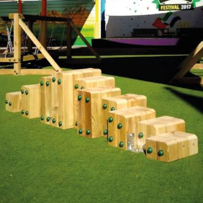 Preschool-Playground-Equipment-UAE-AlAin-Stepping-stumps-BoomTree-Dubai-UAE
