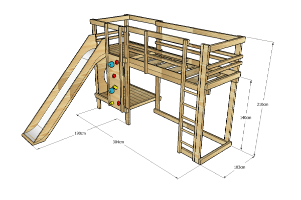 Loft-Bed-Plentiful-Play-Bed-_--Adventure-Sleepers-_-BoomTree-Adventure-Playgrounds-Dubai-UAE