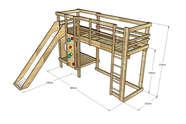 Loft-Bed-Plentiful-Play-Bed-_--Adventure-Sleepers-_-BoomTree-Adventure-Playgrounds-Dubai-UAE